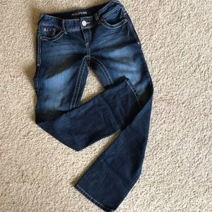 Maurice's jeans, bootcut, size 0